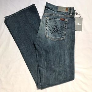 New 7 For All Mankind 'A' Pocket Flare Jeans 32